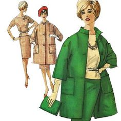 1960s Simplicity 4159 Misses Walking Suit and Blouse vintage sewing pattern by mbchills