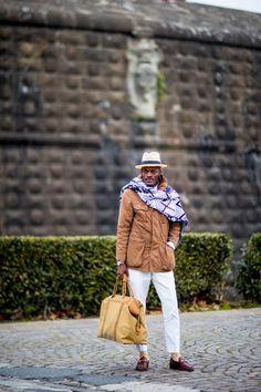 Еще 50 стритстайл-фотографий с Pitti Uomo 91