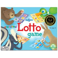 Lotto game by eeBoo