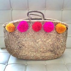 straw bag w/ tassels - Google Search