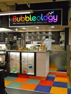Harvey Nichols brings Bubbleology's breakthrough drink selection.