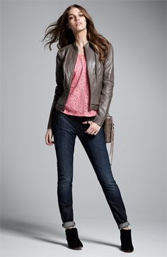 Hudson Jeans, Hinge® Jacket & Tee | Nordstrom