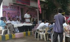 MGR Garu  Participated in 2nd Anniversary of Telangana Medical and Public Health Employees Union in Koti union office. #MGR, #TRS Party, #Khairatabad constituency, #Attended 2nd Anniversary, # Medical and Public Health