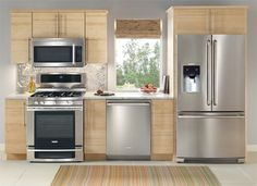 Simple but functional. I would switch the range/oven and the dishwasher...