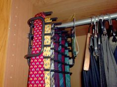 1000 ideas about tie rack on pinterest organize ties tie storage and closet. Black Bedroom Furniture Sets. Home Design Ideas
