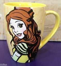 """It's hard to be a Beauty... when mornings are a Beast"" Disney mug https://www.pinterest.com/lahana/mugs-cups-and-drinkware/"