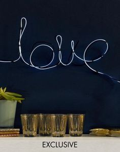 Exclusive Fizz Make Your Own Neon Sign White
