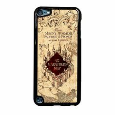 The Marauder S Map Harry Potter Ipod Touch 5 Case