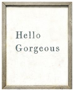 Hello Gorgeous Simplicity Vintage Reclaimed Wood Wall Art - contemporary - artwork - Kathy Kuo Home