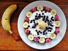 peanutbuttermonster: Weekendowe comfort food, czyli pyszny i zdrowy omlet bananowy