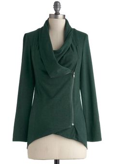 Airport Greeting Cardigan in Forest, #ModCloth