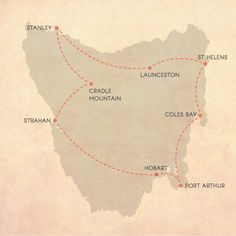 Itineraries for an epic Tasmanian road trip - A Globe Well Travelled Tasmania Road Trip, Tasmania Travel, Holiday Destinations, Travel Destinations, Road Trip Map, Road Trips, Australia Travel, Places To Visit, Adventure