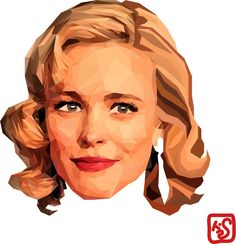 polygone art illust illustrator ai actress movie artist