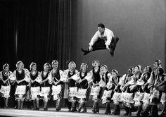 Le ballet Moisseiev au Palais de Chaillot, photo: Robert Doisneau, 1955