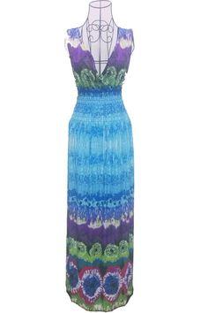 "Women's Plus Size ""The Fun Day"" Long Summer Bohemia Maxi Dress (XL-3XL) - 21 Styles"