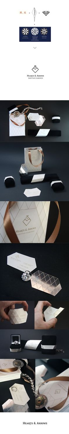 Hearts and Arrows #packaging #branding #marketing PD