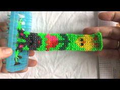 Rainbow loom Pasen: paas motiefjes alphaloom, mural Easter - YouTube