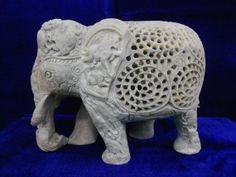 Handmade+Soap+stone+Carving+Elephant+by+MARBLEINLAY+on+Etsy,+$159.00