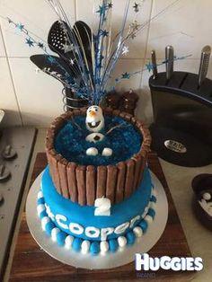 Disneys Frozen Olaf Cake Kit kat cakes Olaf and Disney s