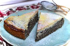 Zdravý makovec ze špaldové mouky s čepicí z tvarohu. Vyzkoušejte! Healthy Sweets, Home Recipes, Cheesecakes, Banana Bread, Healthy Life, Food And Drink, Keto, Cookies, Baking