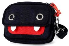 Super Devil Ghost Smiley Pouch