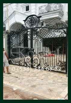 Ferforje Villa Malikane Yalı Köşk Garaj Kapıları