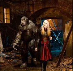 """""""And remember Mr Wink, don't be shy."""" Prince Nuada encourages his friend, Hellboy 2: The Golden Army."""