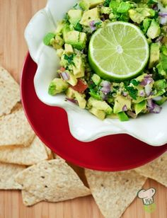 Restaurant Style Guacamole Recipe : This homemade guacamole recipe is a sure-fire crowd pleaser. For your next football party, try this easy, healthy dip that can be made in minutes.