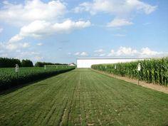 Corn & soybean test plot at Devolder Farms