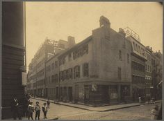 Noah Lincoln House, North Bennett and Salem Streets by Boston Public Library, via Flickr