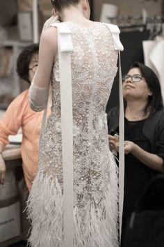 Naeem Khan Fall 2018 at New York Bridal Fashion Week (Pic: The Lane)
