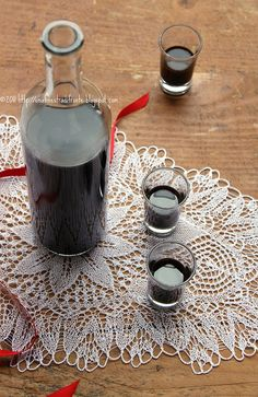 Liquorice liqueur  from Calabria, South Italy -  by Una finestra di fronte, via Flickr