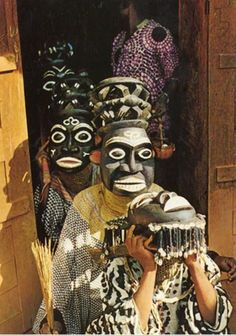 Africa | Cameroon | Date and photographer unknown; via Nederlands Foto Museum