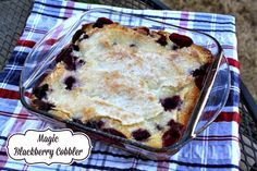 Mommy's Kitchen - Home Sweet Home Cooking : Magic Peach Cobbler + {Blackberry Version Included}
