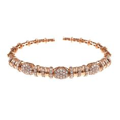 18k rose gold, diamonds, made in Italy, shop deleuse.com