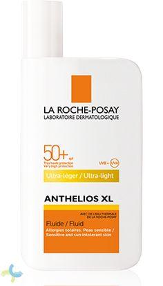 Anthelios XL SPF 50+ Fluido de La Roche Posay es un protector solar que aporta una ultra protección UVA/UVB http://www.farmaciaccloranca.es/anthelios-xl-spf-50-fluido-50-ml-la-roche-posay.html