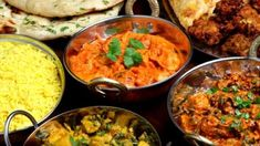 Five tasty Indian dishes! Punjabi Cuisine, Punjabi Food, Indian Food Recipes, My Recipes, Ethnic Recipes, Chefs, Brunch, Coconut Chutney, Gastronomia