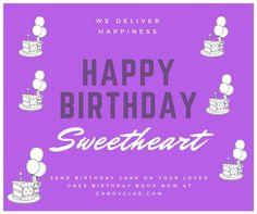 Online cake delivery in Delhi Send Birthday Cake, Online Birthday Cake, Cool Birthday Cakes, Happy Birthday, Online Cake Delivery, First Love, Happy Brithday, Urari La Multi Ani, Happy Birthday Funny