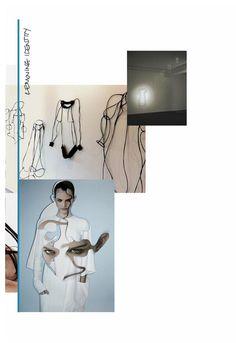Fashion Moodboard - fashion design inspirations, collection development // Lowri Edwards