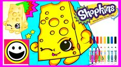 SHOPKINS Coloring Pages - CHEE ZEE - Crayola Coloring Book - Color With ...