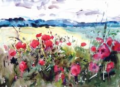 """Poppies"" by Eric Wiegardt."