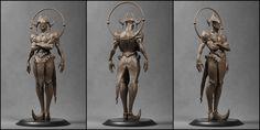 Dark Joker [Clay], Pavee Keawmafai on ArtStation at http://www.artstation.com/artwork/dark-joker-clay