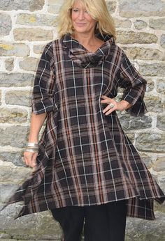 Fluted Tunic, linen, £265.