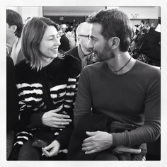 Sofia Coppola & Marc Jacobs sitting front row at the #MarcbyMarcJacobs show in New York #NYFW (à Pier 36)
