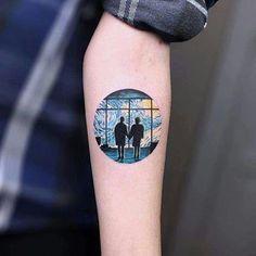 fight club and van gogh tattoo