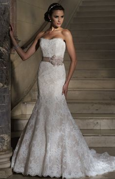Beautiful David Tutera gown...