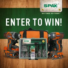 Think you've got the best dad in the world? Enter to win him this awesome RIDGID® Drill & Driver Combo! Enter at http://spax.us/giveaway/.