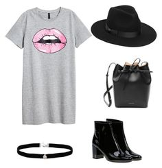 Untitled #24 by elisa-schembre on Polyvore featuring polyvore, fashion, style, Yves Saint Laurent, Mansur Gavriel, Amanda Rose Collection, Lack of Color and clothing
