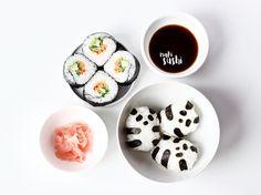 Sugar Free Recipes, Vegan Recipes, Dairy Free, Gluten Free, Egg Free, Raw Vegan, Plant Based, Sushi, Tableware