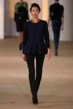 preen fall + winter 2012, peplum shirt